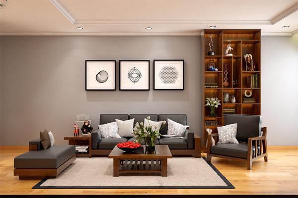 Thiết kế nội thất chung cư theo phong cách kiến trúc Nhật Bản