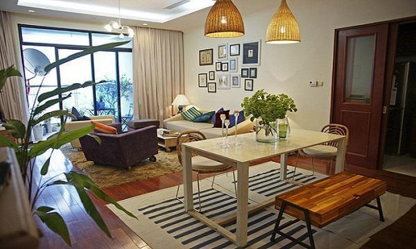 """8 ý tưởng thiết kế nội thất chung cư """"vạn người mê"""""""