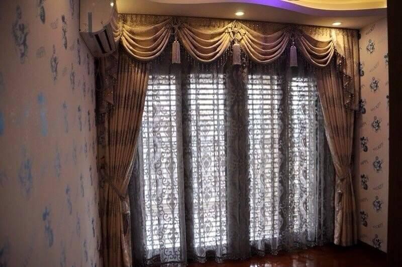 Lựa chọn rèm cửa đẹp mang phong cách sang trọng xa hoa của đất nước Ả rập