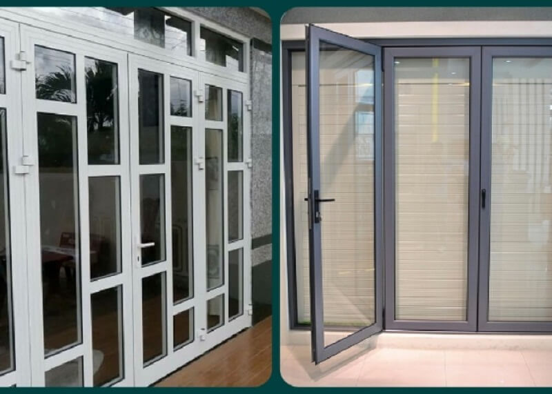 Một số mẫu nhà đẹp lắp đặt hệ cửa nhôm kính - 3