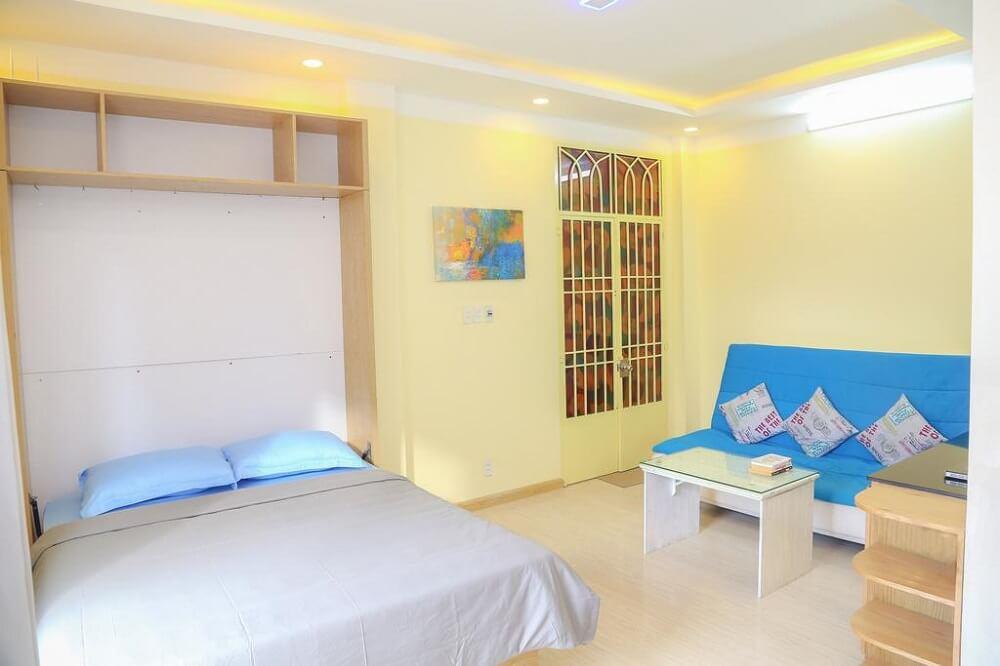 Retro Studio Apartment - Khách sạn giá rẻ ở quận 1