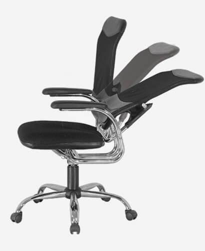 Độ cao lưng ghế phải giúp người ngồi được thoải mái nhất
