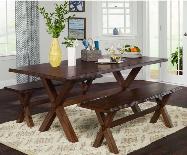 Những mẫu bàn ăn gỗ đẹp không bao giờ lỗi mỗi - 11