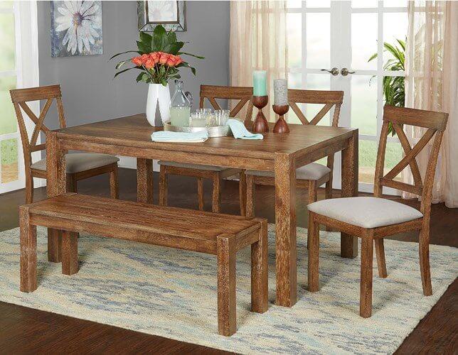 Những mẫu bàn ăn gỗ đẹp không bao giờ lỗi mỗi - 6