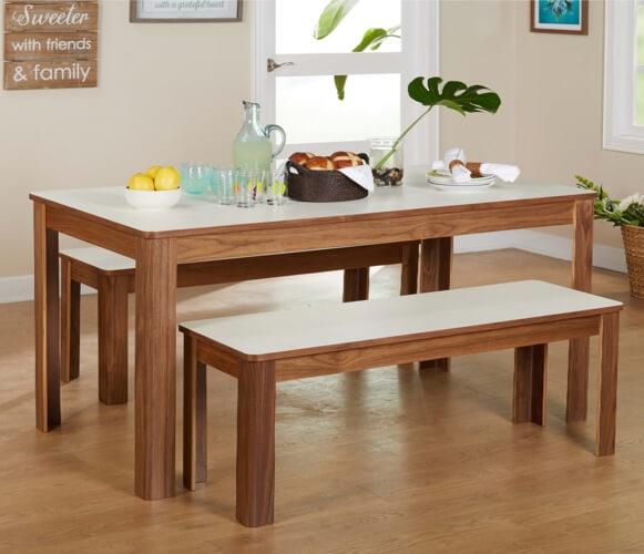 Những mẫu bàn ăn gỗ đẹp không bao giờ lỗi mỗi - 8