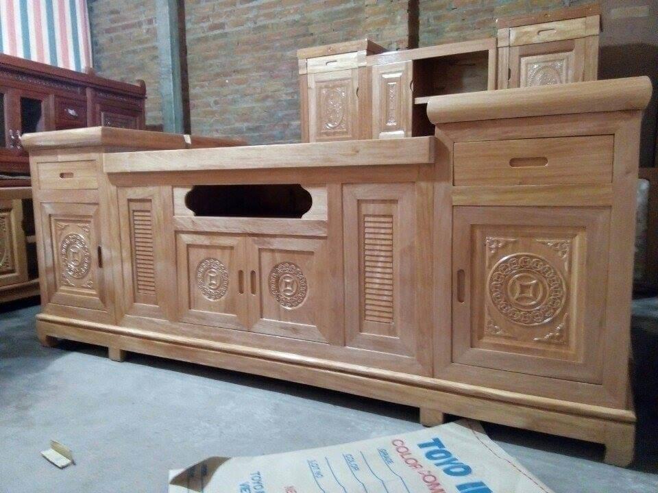 Tổng hợp những mẫu kệ tivi gỗ đẹp tại xưởng sản xuất đồ gỗ nội thất Kata - 1