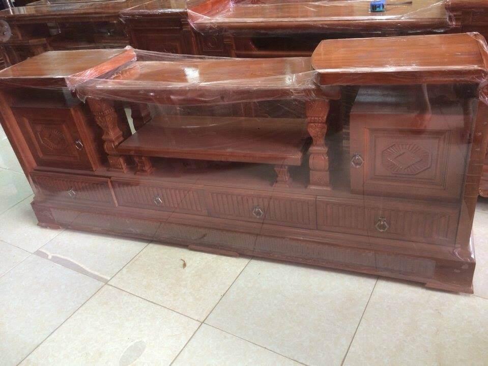 Tổng hợp những mẫu kệ tivi gỗ đẹp tại xưởng sản xuất đồ gỗ nội thất Kata - 10