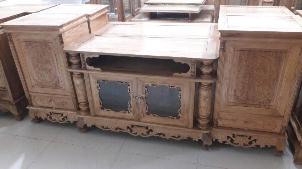 Tổng hợp những mẫu kệ tivi gỗ đẹp tại xưởng sản xuất đồ gỗ nội thất Kata - 13