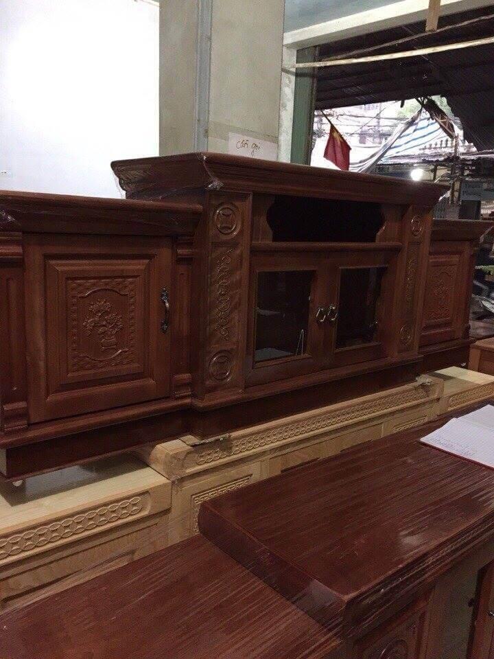 Tổng hợp những mẫu kệ tivi gỗ đẹp tại xưởng sản xuất đồ gỗ nội thất Kata - 2
