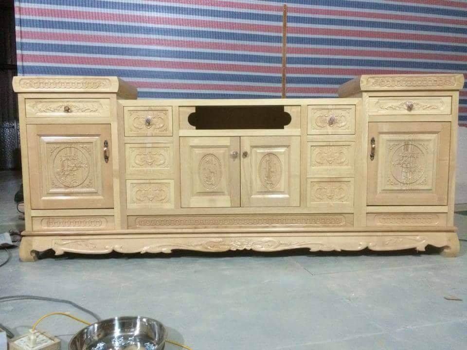 Tổng hợp những mẫu kệ tivi gỗ đẹp tại xưởng sản xuất đồ gỗ nội thất Kata - 5