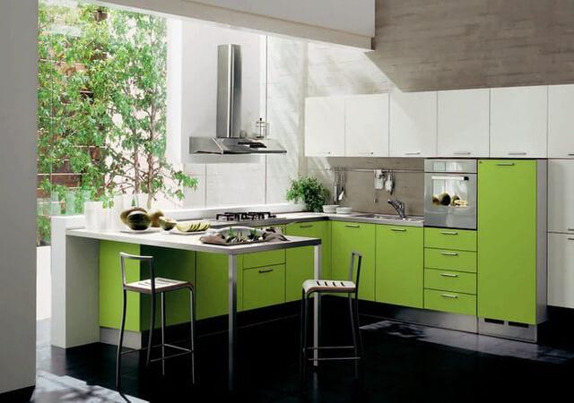Những ý tưởng thiết kế tủ bếp đẹp cho không gian phòng bếp - 10