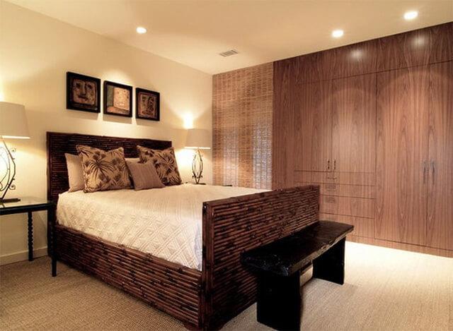 Thiết kế phòng ngủ bằng chất liệu gỗ như thế nào cho hợp lý? - 1