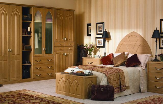 Thiết kế phòng ngủ bằng chất liệu gỗ như thế nào cho hợp lý? - 14