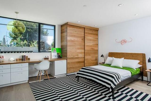 Thiết kế phòng ngủ bằng chất liệu gỗ như thế nào cho hợp lý? - 16