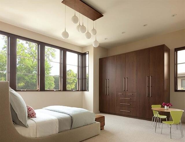 Thiết kế phòng ngủ bằng chất liệu gỗ như thế nào cho hợp lý? - 4