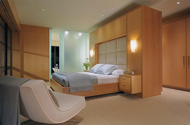 Thiết kế phòng ngủ bằng chất liệu gỗ như thế nào cho hợp lý? - 9