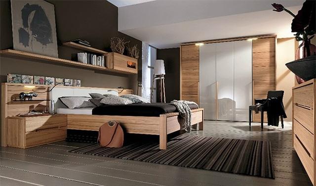 Thiết kế phòng ngủ bằng chất liệu gỗ như thế nào cho hợp lý?