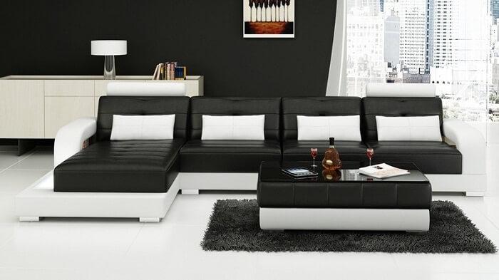 Tổng hợp các mẫu bàn ghế gỗ phòng khách sang trọng - 9
