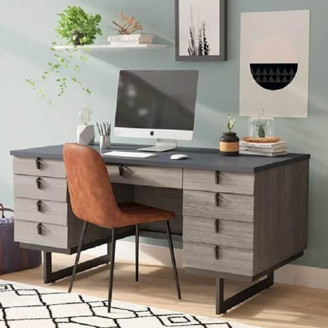 Tổng hợp các mẫu bàn làm việc cho các không gian nhà chật hẹp - 2