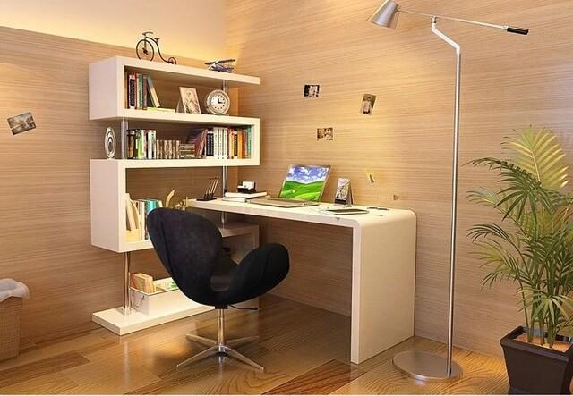 Tổng hợp các mẫu bàn làm việc cho các không gian nhà chật hẹp - 3