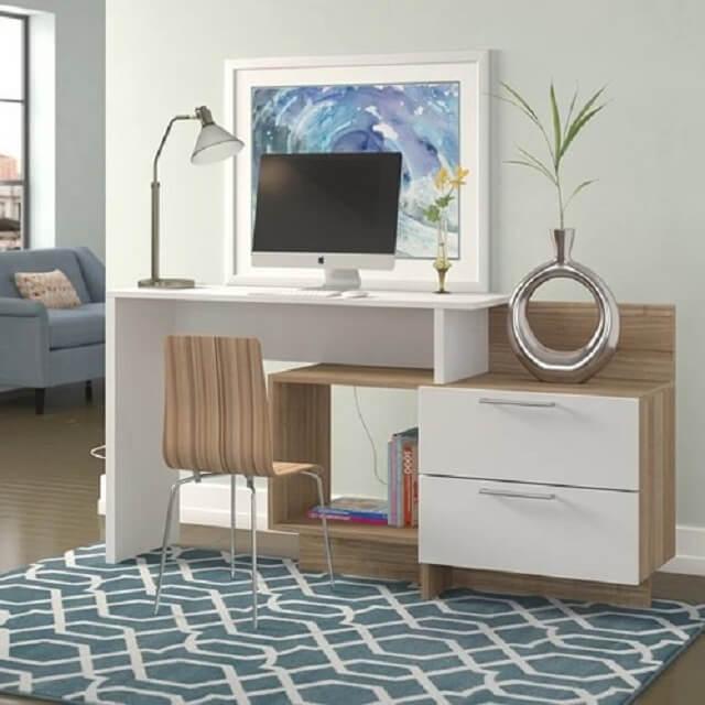 Tổng hợp các mẫu bàn làm việc cho các không gian nhà chật hẹp - 5