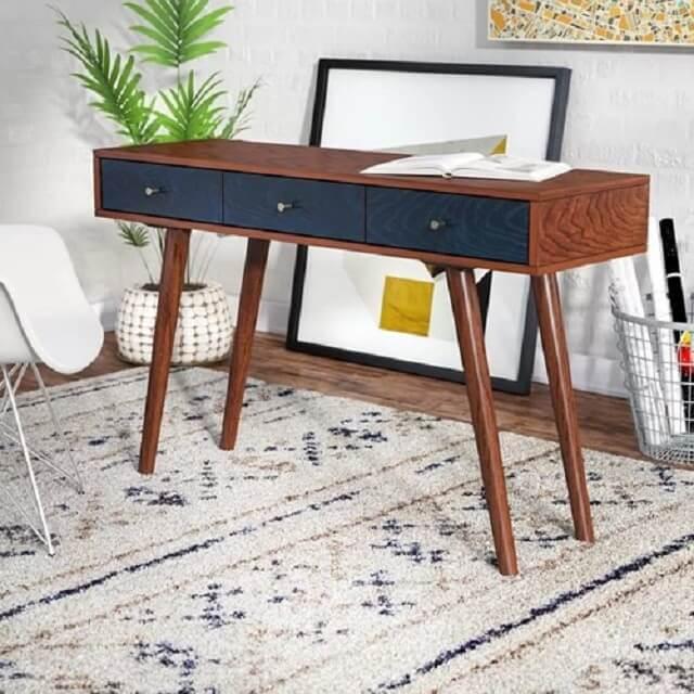 Tổng hợp các mẫu bàn làm việc cho các không gian nhà chật hẹp - 7