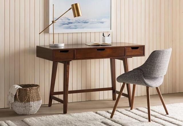 Tổng hợp các mẫu bàn làm việc cho các không gian nhà chật hẹp