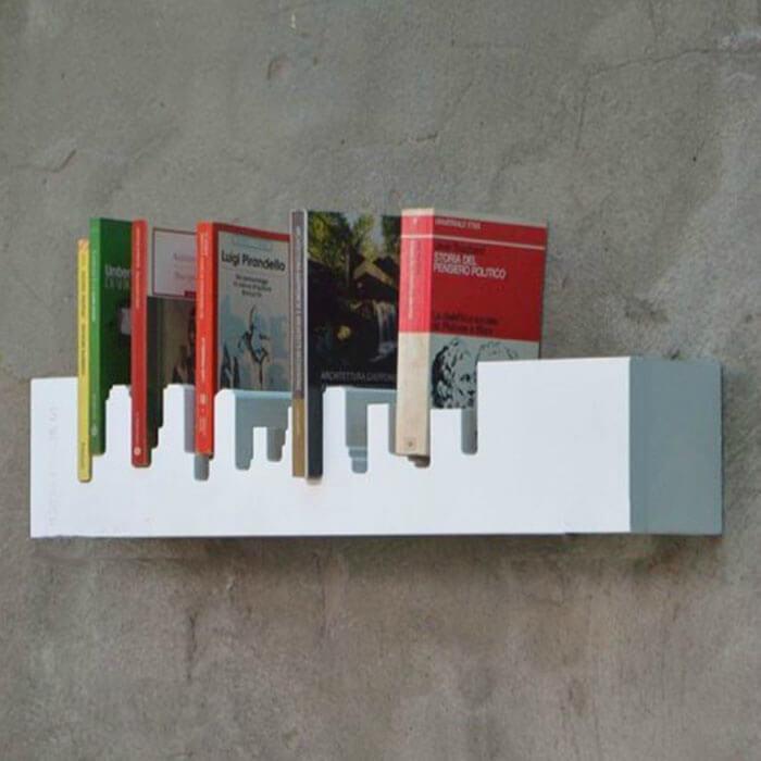Kệ sách treo tường đường chân trời New York