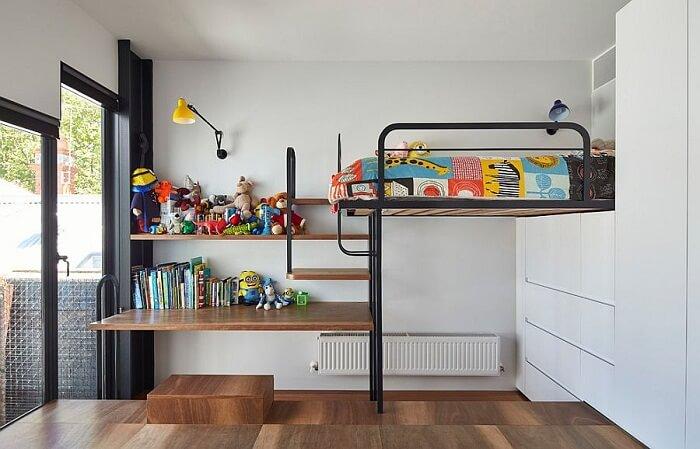 Kệ sách treo tường dành cho trẻ em