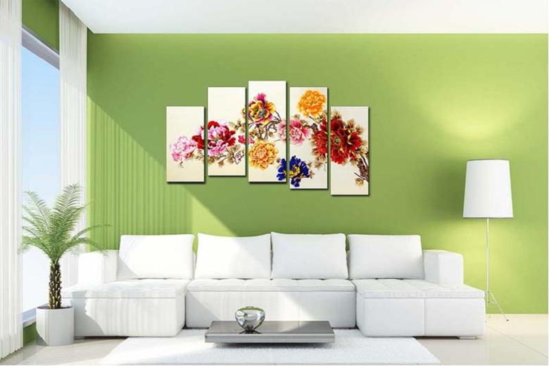 Xu hướng lựa chọn tranh đẹp để trang trí nội thất nhà ở