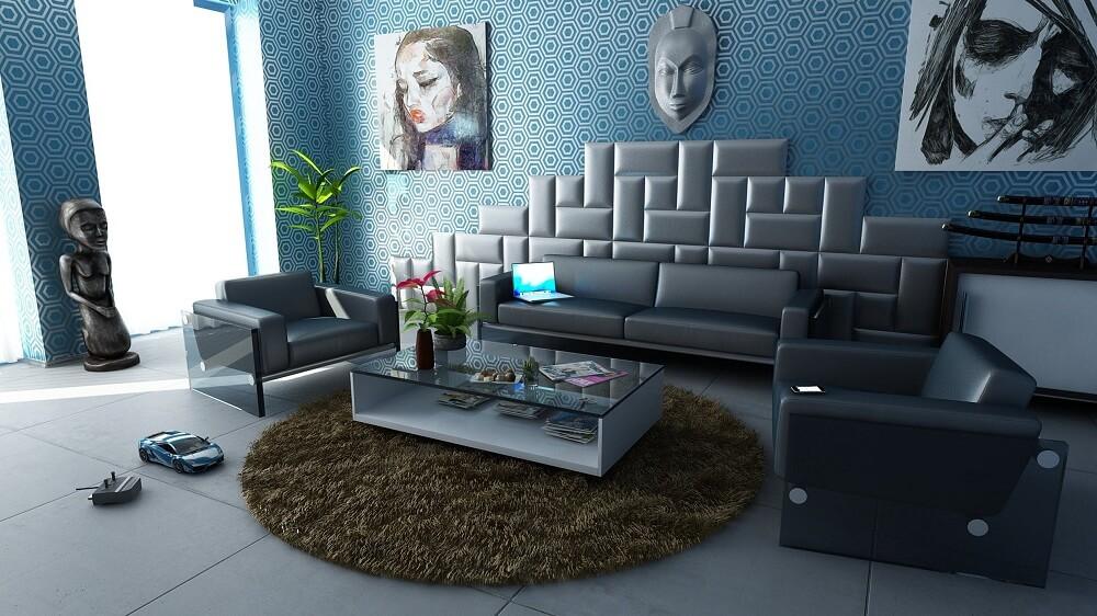 Giấy dán tường trang trí nhà