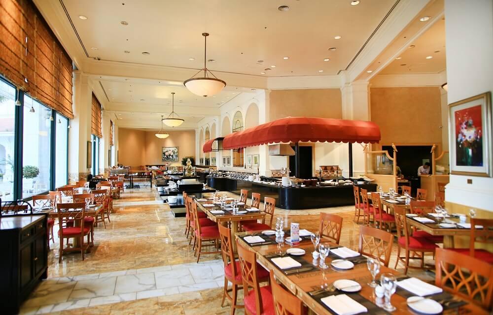Nhà hàng Cafe Promenade - Khách sạn Daewoo Hà Nội