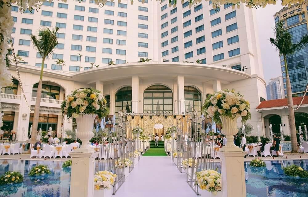 Tổ chức tiệc cưới - Khách sạn Daewoo Hà Nội