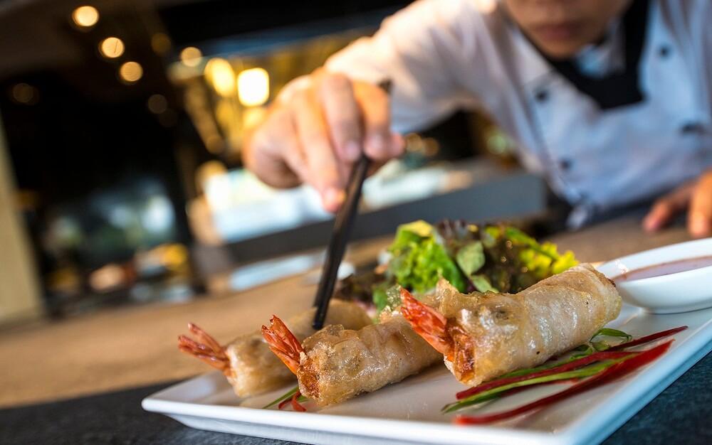 Lớp học nấy ăn tại InterContinental - Khách sạn InterContinental Nha Trang