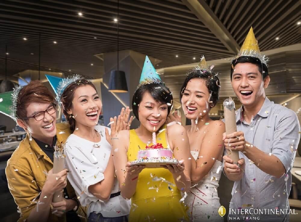 Mừng sinh nhật theo cách riêng của bạn - Khách sạn InterContinental Nha Trang