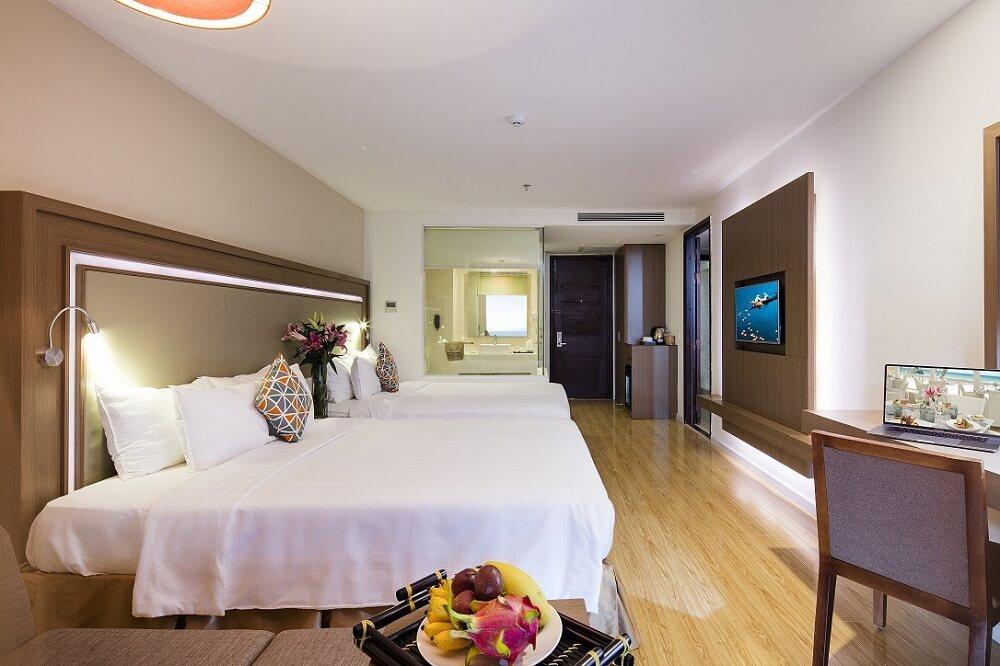 Phòng Family Connection - Khách sạn King Town Nha Trang