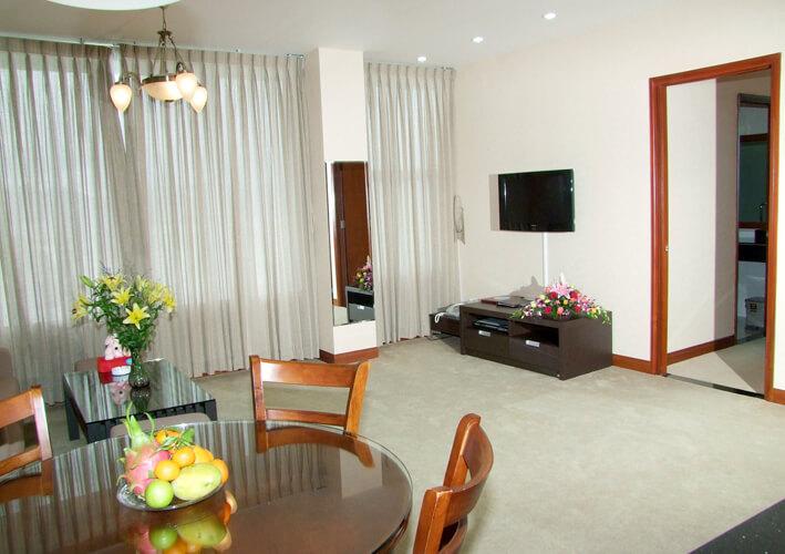 Phòng Apartment - Khách sạn Lodge Nha Trang