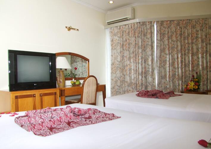 Phòng Deluxe - Khách sạn Lodge Nha Trang