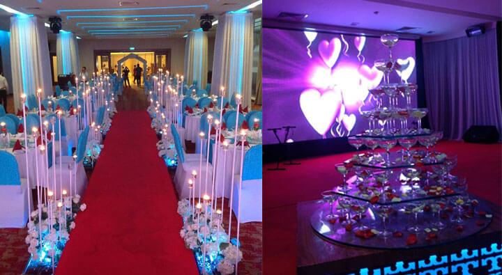 Tiệc cưới - Khách sạn Michelia Nha Trang
