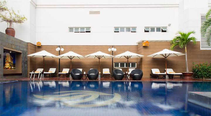 Hồ bơi - Khách sạn Michelia Nha Trang