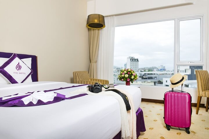Phòng Junior Deluxe (Double + Twin) - Khách sạn Michelia Nha Trang