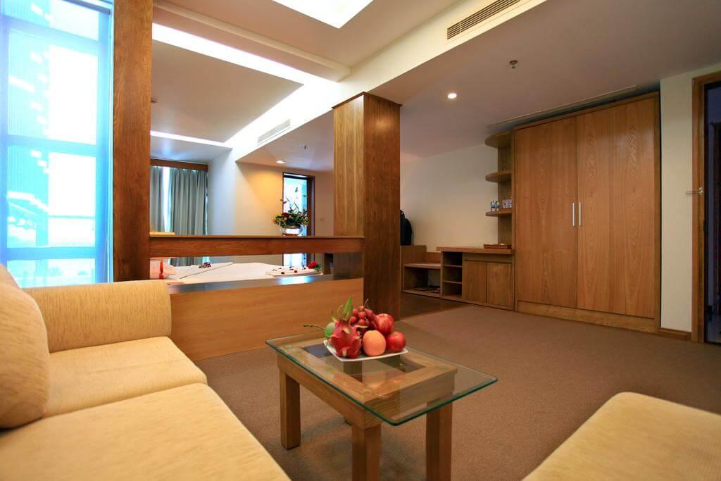 Phòng Deluxe City View - Khách sạn Prime Nha Trang