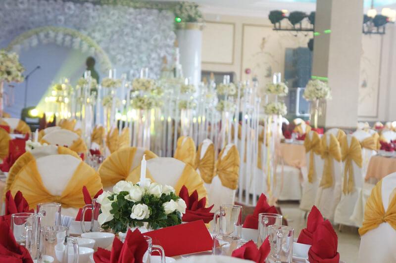 Tổ chức tiệc cưới tại Khách sạn Sammy Đà Lạt