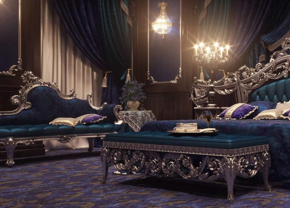 Thiết kế nội thất đẹp cổ điển
