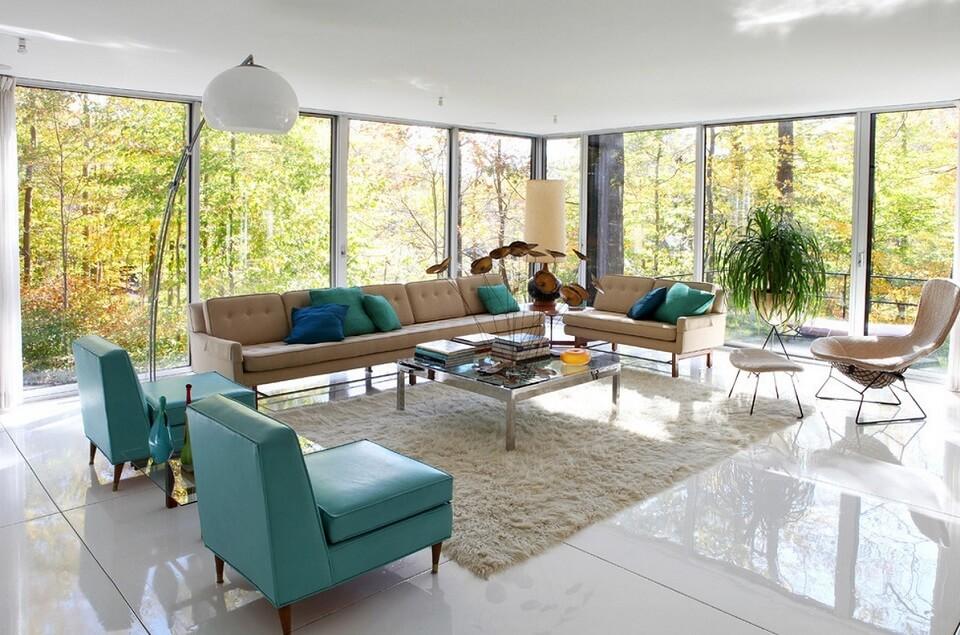 Thiết kế nội thất đẹp Retro