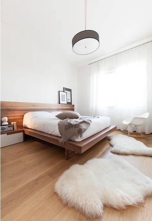 10 mẫu giường gỗ đơn giản cho phòng ngủ đẹp mê mẩn trang trí