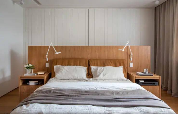 10 mẫu giường gỗ đơn giản cho phòng ngủ đẹp mê mẩn nhiều chức năng