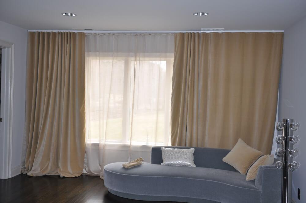 Rèm hai lớp - Rèm cửa sổ