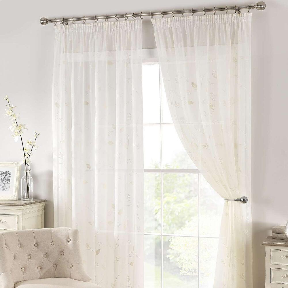 Rèm trắng tinh khôi - Rèm cửa sổ