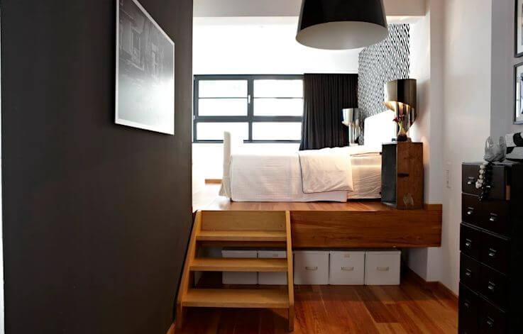 Tận dụng tối đa không gian dưới gầm giường - Nội thất cho nhà nhỏ